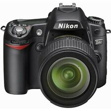 Nikon D80 SLR Digital Camera with 18-55mm Lens