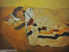 'Sweet Dreams' Signed Limited Edition Print by Artist Carol Theroux 16x21 S/N