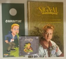 Firefly Serenity Hoban Wash Lot, All New, Pin, Door Hanger, Signal, Loot Crate