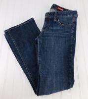 Express Women's Size 4R Regular Stella Boot Cut Jeans Dark Wash Low Rise