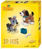 Kit Cuentas Y Placas Estándar ( Ø5 MM) Mediano 3D Perro - Hama