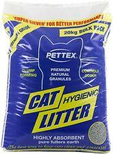 Pettex Premium Clumping Cat Litter 20kg Bag
