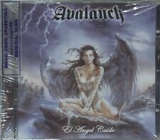 AVALANCH EL ANGEL CAIDO SEALED CD 2015 METAL ARGENTINA