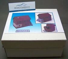 Modellbau-Gelände 1/87: H015060 Geländestück Haus mit Stall (Fertigmodell)