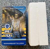 Al McGuire SGA Statue Marquette University NCAA BASKETBALL CHAMPIONS 1974 1977