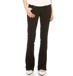 Women's Size 26 Paige Denim Jeans 'Lou Lou Tulip' Vinyl Wash Skinny Kick Flare