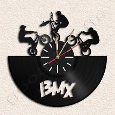 BMX Wall Clock Vinyl Record Clock