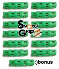 SNAPPY GRIP Egonomic Replacement Bucket Handles 12 GREEN + BONUS