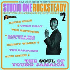 Soul Jazz Records Presents-Studio One Rocksteady 2, The Heptones CD NEU