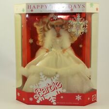 Mattel - Barbie Doll - 1989 Special Edition Happy Holidays Barbie *NON-MINT BOX*