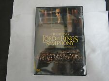 Howard Shore Creating The Lord Of The Rings Symphony (Dvd, 2004) New Sealed