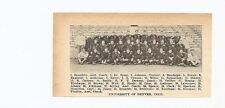 Denver University Pioneers Greeley Colorado State College 1928 Football Team Pic