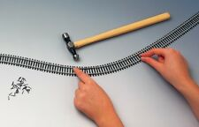 HORNBY R621 Fully Flexible Track Pieces 970mm - PAY POSTAGE ONLY ONCE!