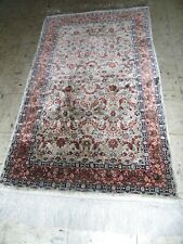 Awesome 100%Silk Kum Hand Made Oriental Rug.