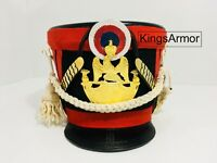 HALLOWEEN Red Color French Napoleonic Shako Helmet by KingsArmor