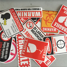 Wholesale Authentic Red And Black Stickers Snowboard Luggage Car Laptop UU