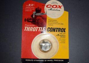 Cox .049 Medallion Model Airplane Engine Throttle Control 049