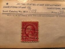 George Washington Red 2 Cent Stamp