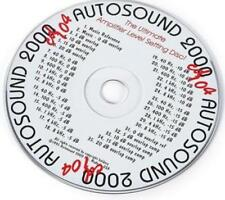 Autosound 2000 Presents Test CD #104 MUSIC AUDIO amplifier level setting disc