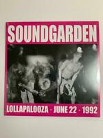 Soundgarden – Lollapalooza June 22, 1992 Vinyl LP Limited to 500 Copies*Sealed*