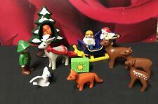 Playmobil 123 - Père Noël traineau Animaux