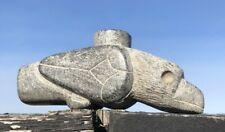 Old Native American Steatite Bird-Effigy Pipe