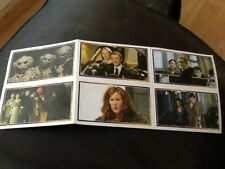 Merlin stickers   Dr. WHO uncut sheet of 6 stickers THE MASTER JOHN SIMM