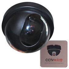 Replica Model Surveillance Camera Security Outdoor Dome CCTV Motion Sensor noo