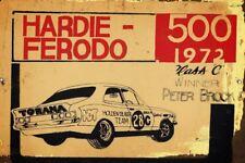 Hardie Ferodo  1972 PB  metal sign 20 x 30 cm free postage