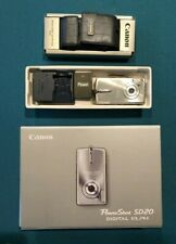 CANON Powershot SD20 Silver 5MP Ultra Compact Digital Camera (Used)