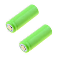 2 x CORDLESS TELEPHONE BATTERIES 400mAH 2/3AAA NIMH 1.2V FLAT TOP