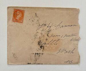 1895 3c Orange Ontario to Seattle Washington