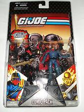 G.I. Joe 25th Comic Pack IRON GRENADIER & DESTRO figure