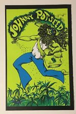 Johnny Potseed Blacklight Poster Pin-up Print Love Chereskin Double Sided UV