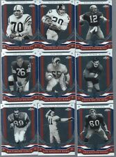 2008 Topps Chrome Football Honor Roll Set 9 Cards FREE SHIPPING