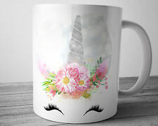 UNICORN Mug 11 oz Silver Unicorn Gifts Unicorn Coffee Cup Gift Ideas for Women