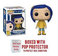 Pop Animation : Coraline - Coraline in Raincoat #423 Vinyl w/Protector Case
