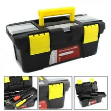 Plastic Chest Tool Box Tray DIY Compartment Storage Toolbox Bag Case Organiser