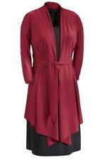 NEW WOMENS SEVENTH AVENUE RED & BLACK TWO IS BETTER DRESS SIZE MEDIUM