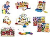 Kids Wooden Toys Activity Set Pretend Play Toys Gift Xmas - Melissa & Doug