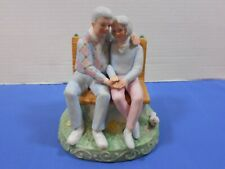 """San Francisco Music Box Married Couple On A Bench """"As Time Goes By"""" Anniversary"""