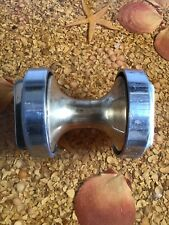 Vintage Brass/ Bronze Anchor Roller With Chrome Plated Ends Removable S/ Used