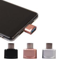 NEU USB-C Type-C To USB OTG Mini Adapter 2.0 Konverter For Samsung Galaxy Note 8