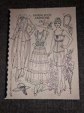 Pattern Book Fashions 1917 Paper Dolls by Charles Ventura SIGNED UNCUT