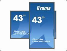 "iiyama 108cm (43"") LED ProLite 4K UHD LCD LH4342UHS schwarz matt LH4342UHS-B1"