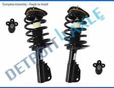 New Both (2) Complete Front Quick Install Ready Struts + (2) Lower Ball Joints