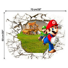 Super Mario Brothers Wall sticker Vinyl Art Removable Decal Kid's Bedroom Decor