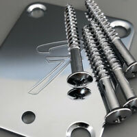 Micro Tilt Guitar Neck Plate F for TL ST guitar well Chrome