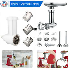 Kitchen Food Meat Grinder Slicer Shredder Attachment For KitchenAid Stand Mixer