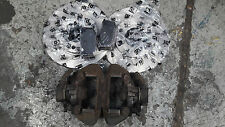 PEUGEOT 206 GTI 180 REAR BRAKE CALIPERS WITH NEW DISCS AND PADS HDI CC BRAKES